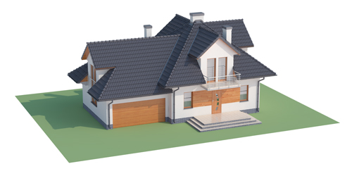 Projekt domu DM-6341 - model