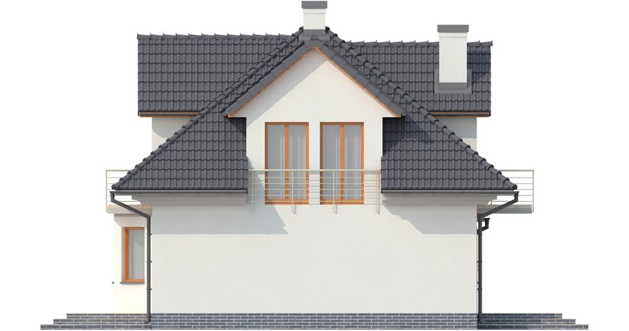 Projekt domu L-6341 - elewacja