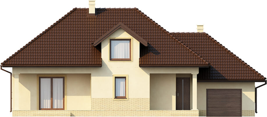 Projekt domu DM-6371 - elewacja