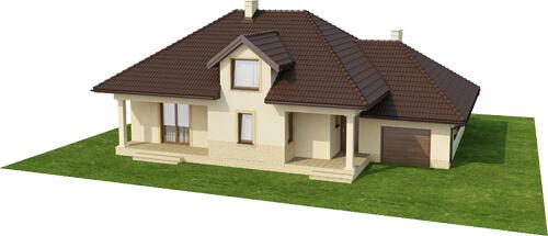 Projekt domu DM-6371 - model