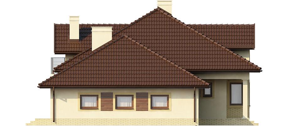 Projekt domu L-6371 - elewacja