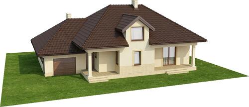Projekt domu L-6371 - model