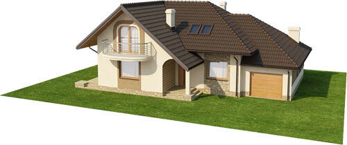 Projekt domu DM-6373 - model