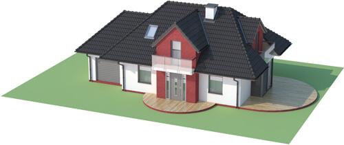 Projekt domu L-6346 - model