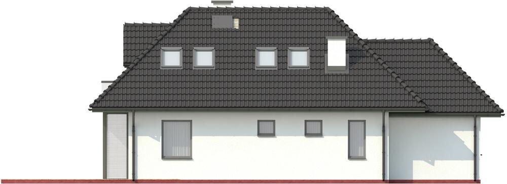 Projekt domu L-6346 - elewacja