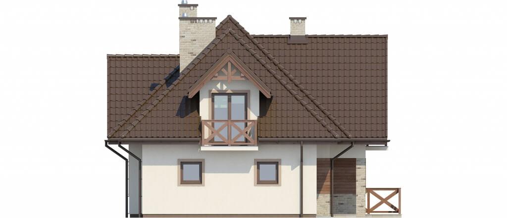 Projekt domu DM-6350 - elewacja