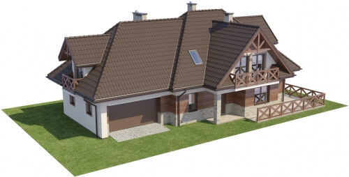 Projekt domu DM-6350 - model