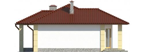 Projekt domu DM-6087 - elewacja