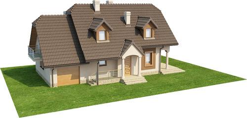 Projekt domu DM-6369 - model