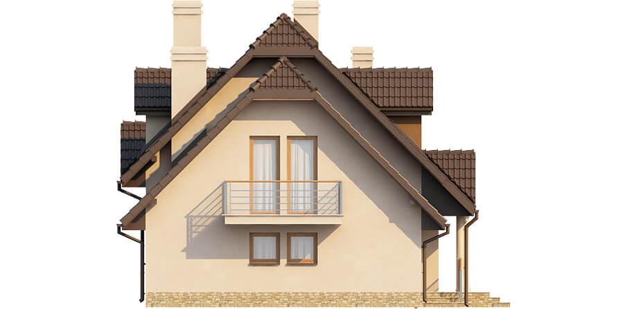 Projekt domu DM-6369 - elewacja