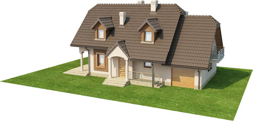 Projekt domu L-6369 - model