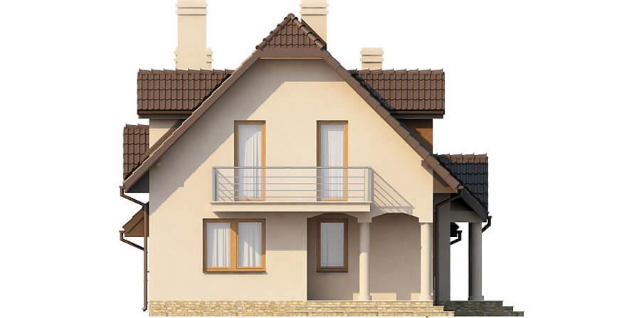 Projekt domu L-6369 - elewacja