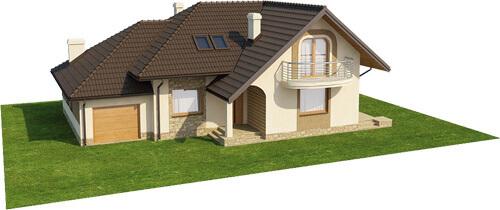 Projekt domu L-6373 - model