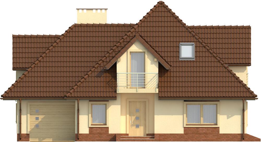 Projekt domu DM-6349 - elewacja