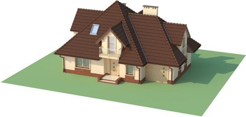 Projekt domu L-6349 - model