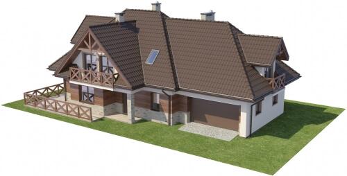 Projekt domu L-6350 - model
