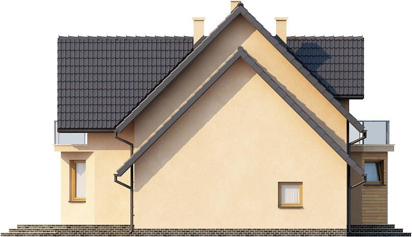 Projekt domu L-6357 - elewacja