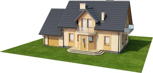 Projekt domu L-6357 - model