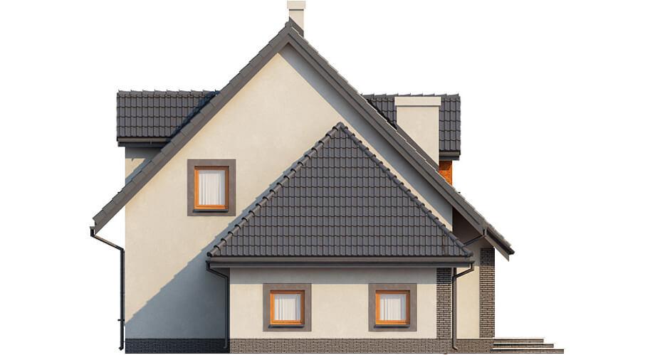 Projekt domu DM-6358 - elewacja