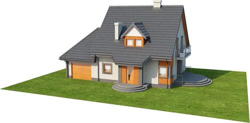 Projekt domu DM-6358 - model