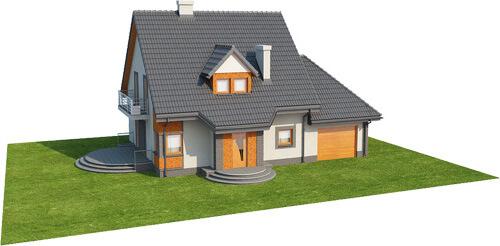 Projekt domu L-6358 - model