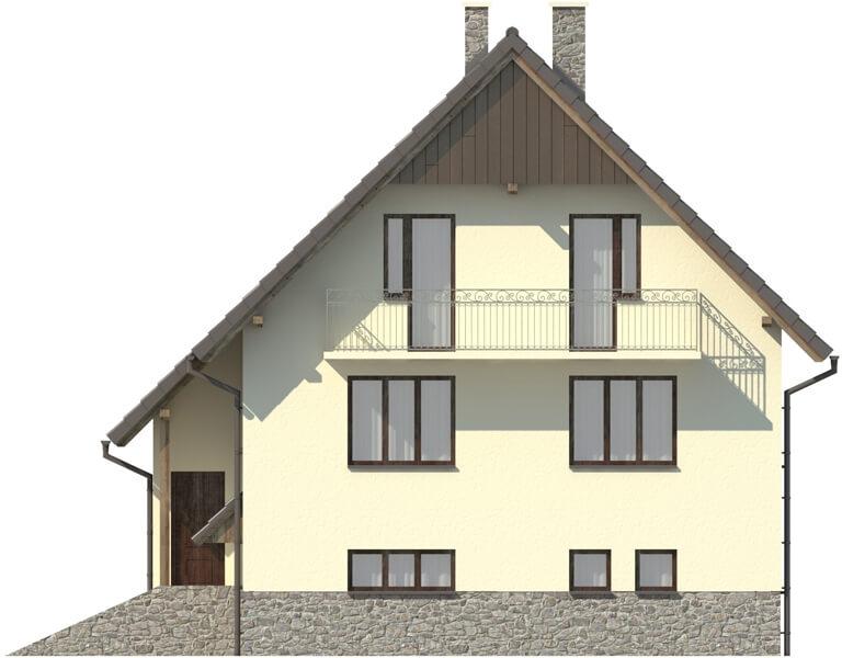 Projekt domu DM-6088 - elewacja