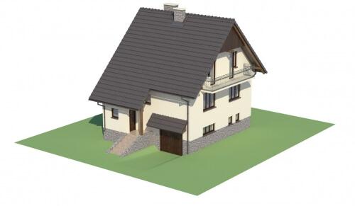 Projekt domu DM-6088 - model