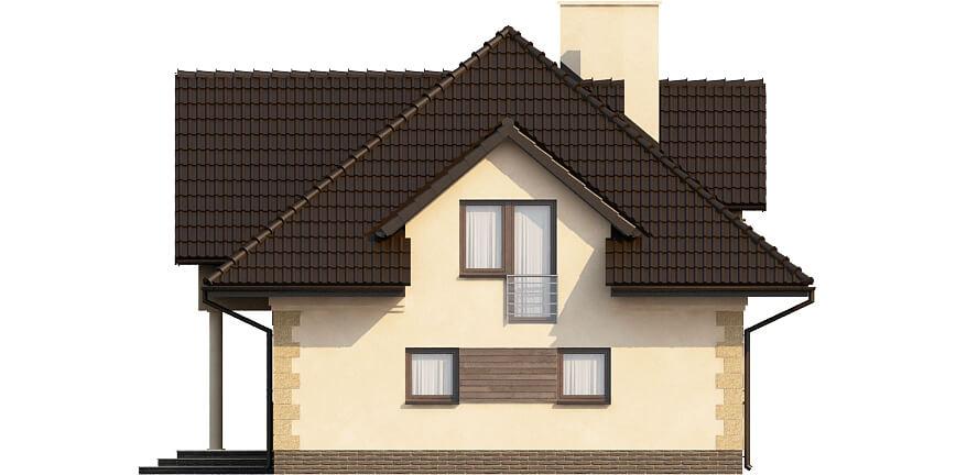 Projekt domu DM-6368 - elewacja