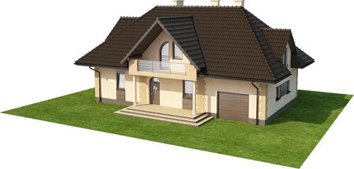 Projekt domu DM-6368 - model