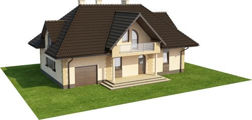 Projekt domu L-6368 - model