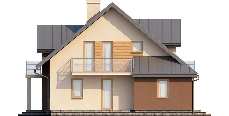 Projekt domu DM-6370 - elewacja