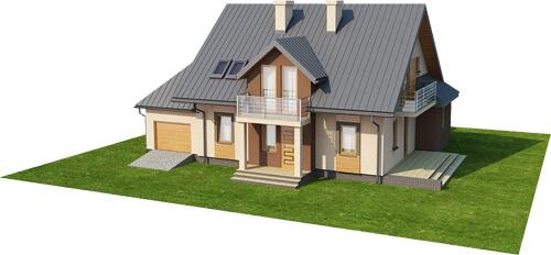 Projekt domu DM-6370 - model