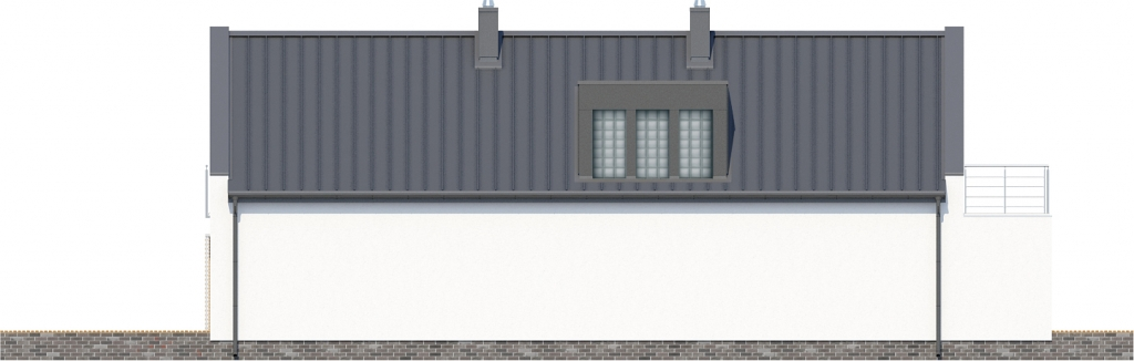 Projekt domu DM-6417 - elewacja