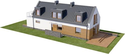 Projekt domu DM-6417 - model