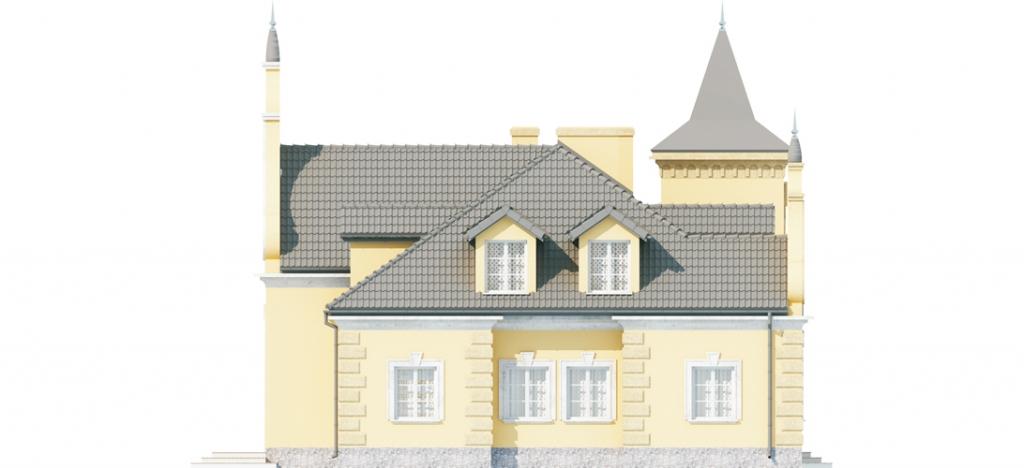 Projekt domu RW-01 - elewacja