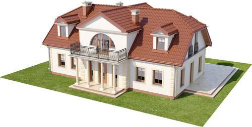 Projekt domu DM-6414 - model