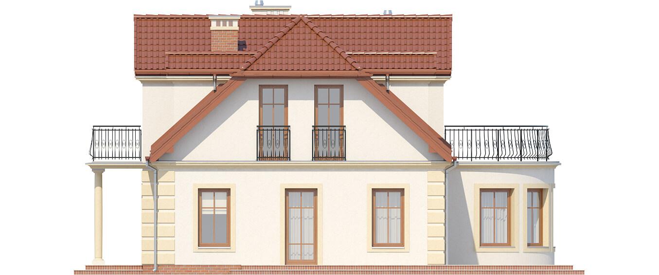 Projekt domu DM-6414 - elewacja