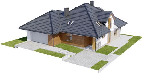Projekt domu L-6418 - model