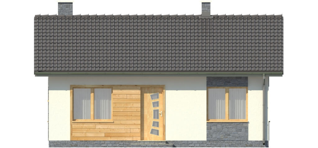Projekt domu DM-5519 - elewacja