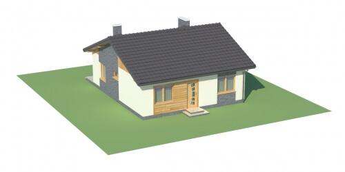 Projekt domu DM-5519 - model