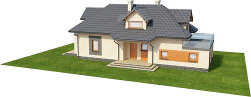 Projekt domu L-6390 - model