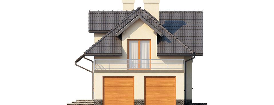 Projekt domu L-6390 - elewacja