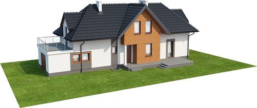 Projekt domu DM-6408 - model