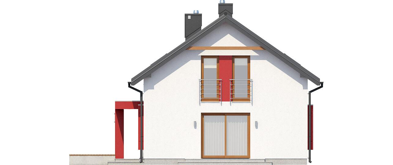 Projekt domu DM-6419 - elewacja