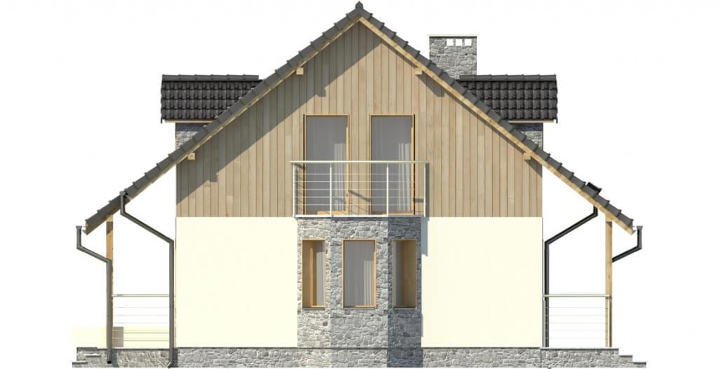 Projekt domu DM-6095 - elewacja