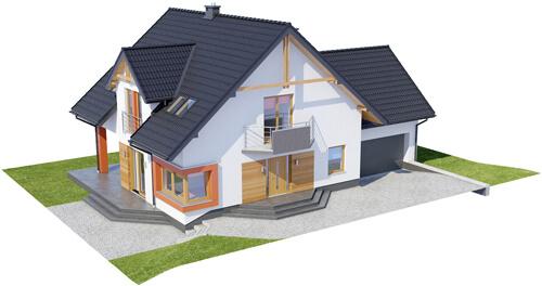 Projekt domu DM-6420 - model