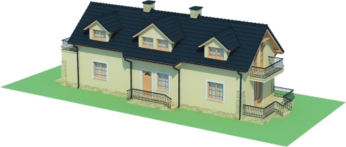 Projekt domu DM-6450 - model