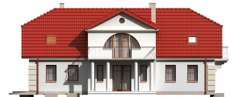 Projekt domu DM-6290 B - elewacja