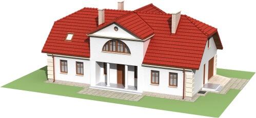Projekt domu DM-6290 B - model