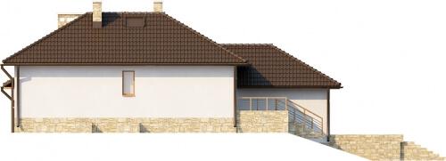 Projekt domu DM-6158 B - elewacja